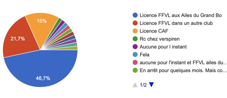 Quel type de licence possèdes-tu ?